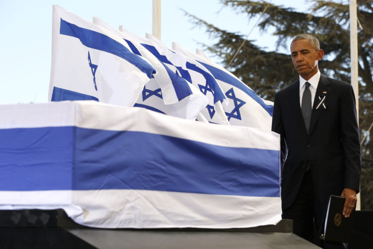 World leaders bid farewell to Israeli statesman Peres