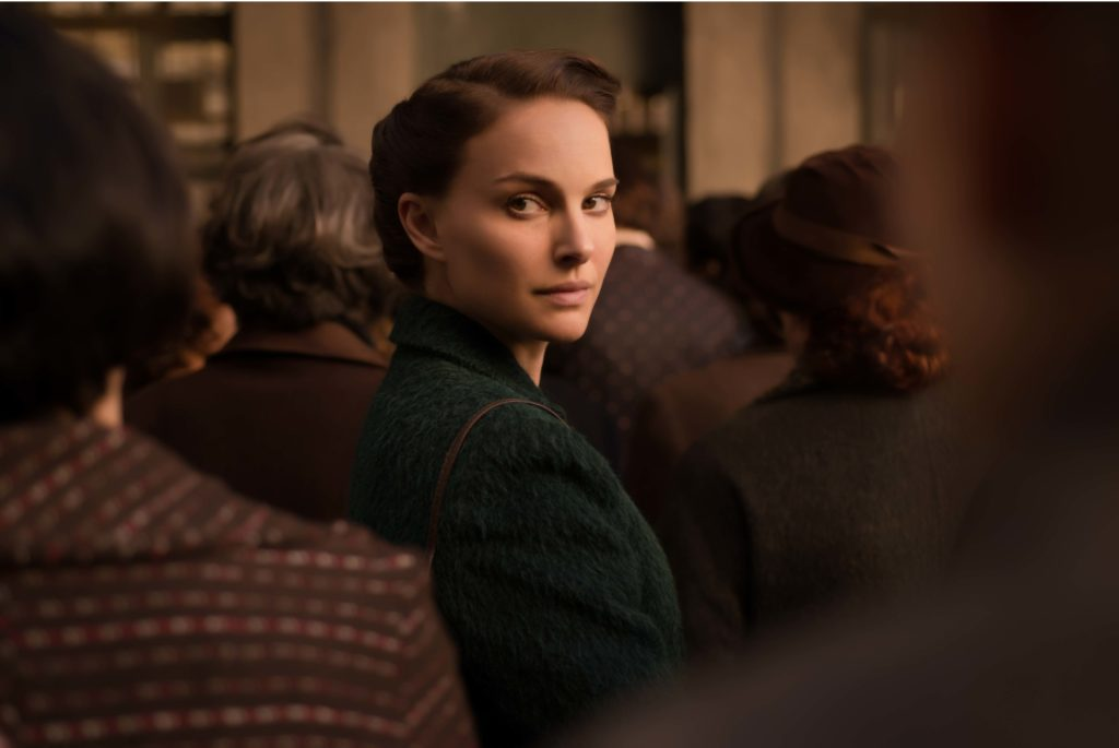 """Natalie Portman stars as Amos Oz's mother in her adaptation of """"A Tale of Love and Darkness."""" (Ran Mendelson/Courtesy of Focus World)"""