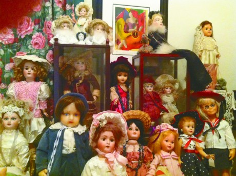 Arlene Barth's doll collection fills her eastside Tucson home — and her three-car garage.