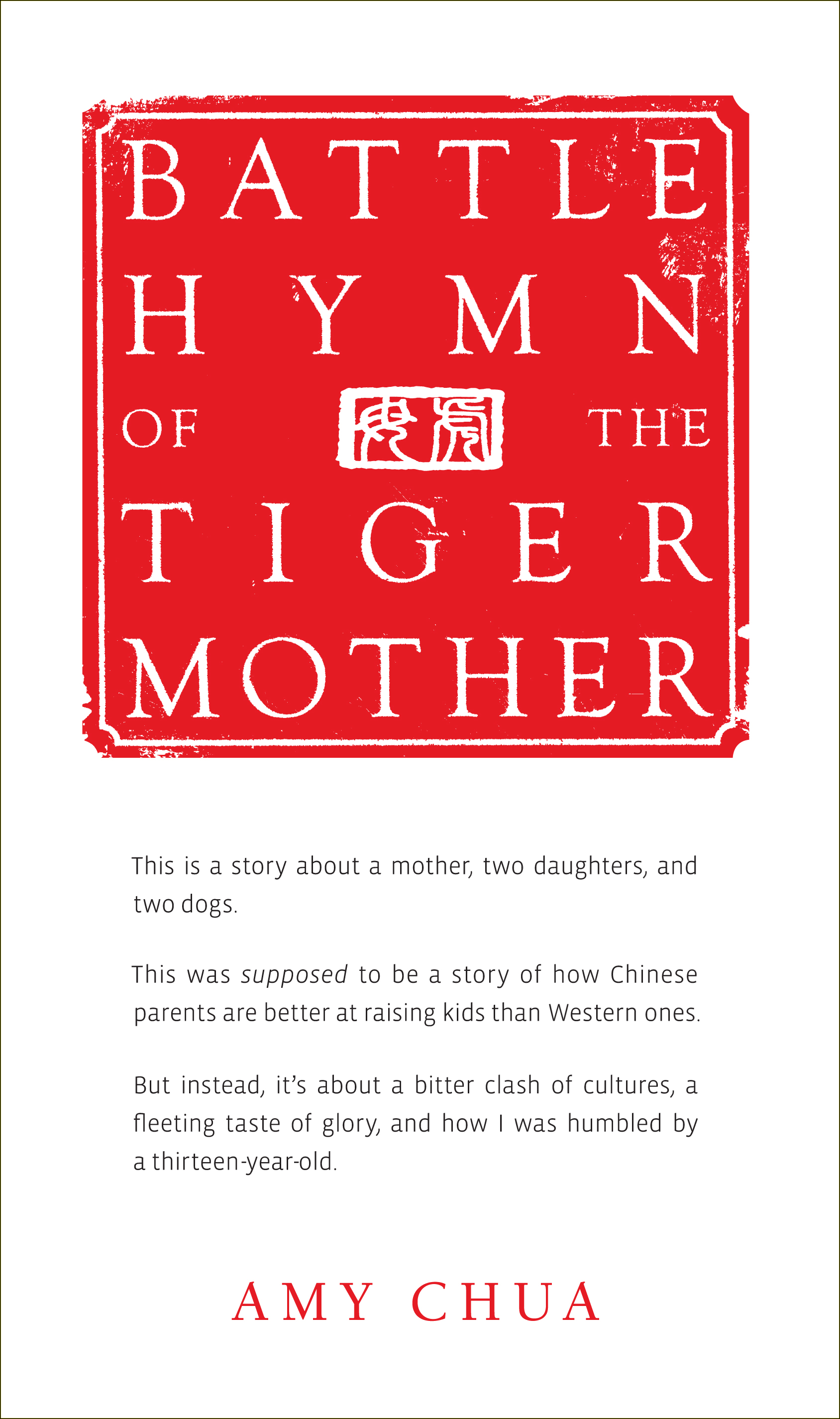 amy chua essay why chinese mothers are superior