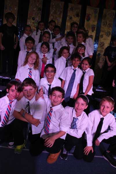 At Tucson Hebrew Academy's annual Chanukah concert on Thursday, Dec. 18, kindergarten through fourth grade students sang and danced to Chanukah parody songs inspired by Jewish YouTube sensations the Maccabeats,  Sam Glaser, the Ein Prat Fountainheads and Aish.